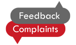 Feedback and complaints logo